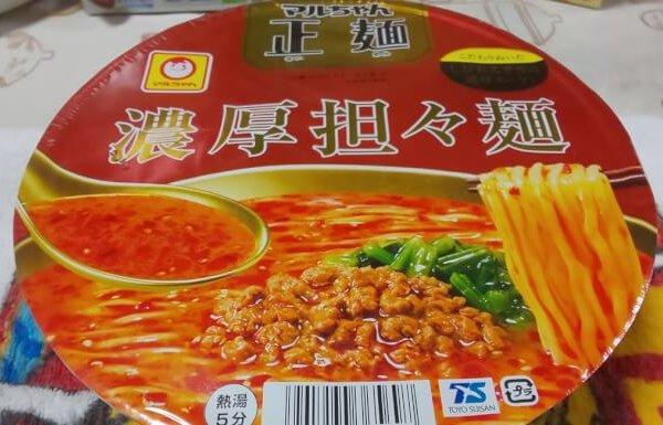 ファミマのマルちゃん担々麺1
