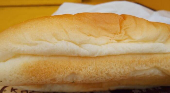 ファミマのコッペパン焼きそばの生地