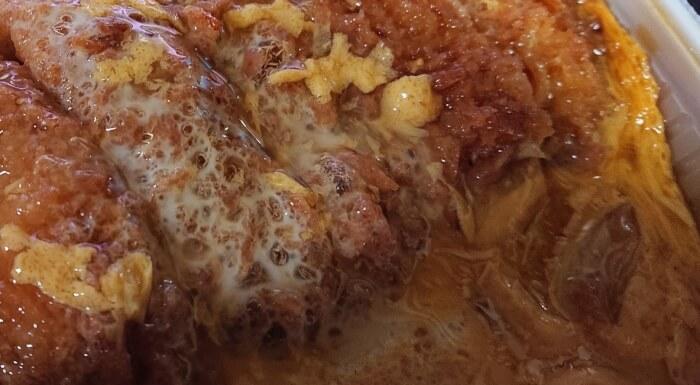 セブンイレブンの味しみ特性ロースかつ丼2