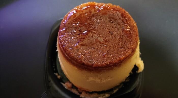 ファミマのプリン!?なチーズケーキの本体上部1
