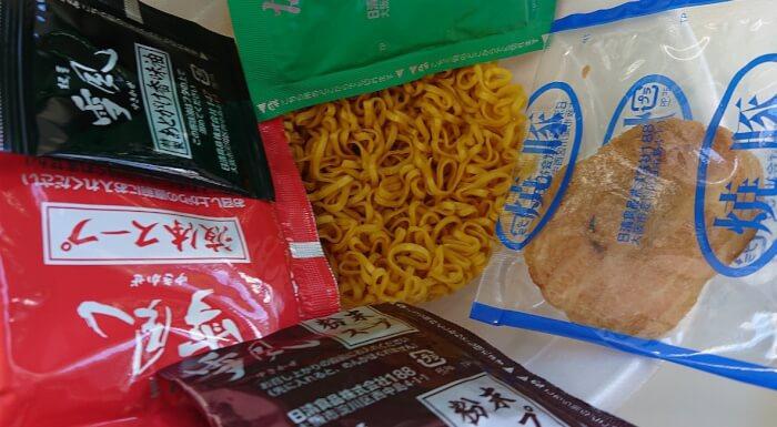 ローソンの麺屋雪風 札幌濃厚味噌らーめんの調味袋一式