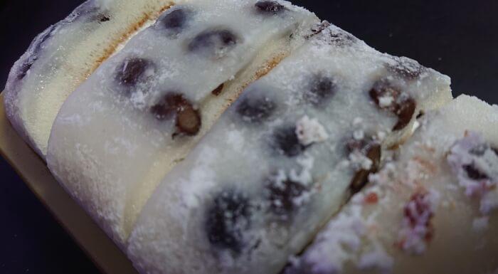 ローソンの塩豆大福仕立てのもち食感ロール本体4