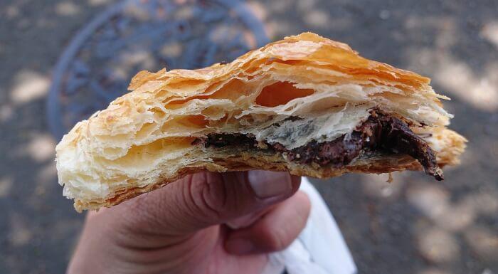 ファミマのパイの実みたいなデニッシュの断面2