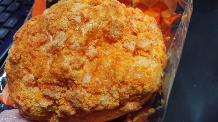 セブンのクッキーシューパンプキン本体表面2